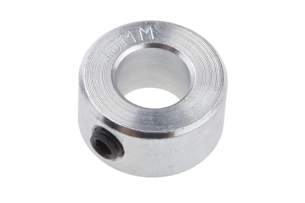 Product image for Steel Shaft Collar, One Piece, Bore 10mm