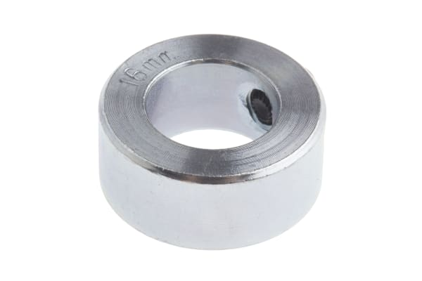 Product image for Steel Shaft Collar, One Piece, Bore 16mm