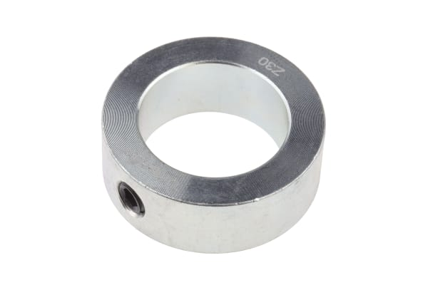 Product image for Steel Shaft Collar, One Piece, Bore 30mm