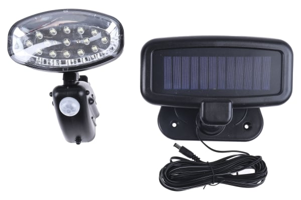 Product image for EVO15 SOLAR PIR UTILITY LIGHT