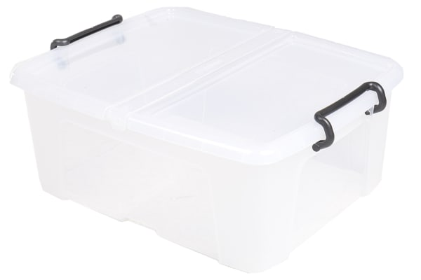 Product image for 24 LITRE CONTAINER WITH HINGED LID