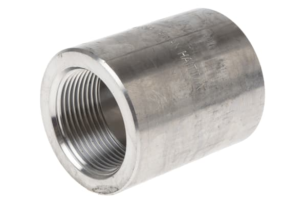 Product image for 1 1/4in F/Steel 316 Full Coupling Joint