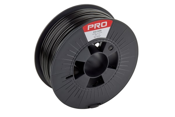 Product image for RS Black PLA 2.85mm Filament 1kg