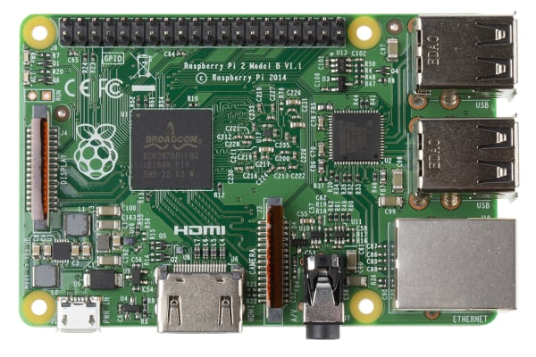 Product image for Raspberry Pi 2 B