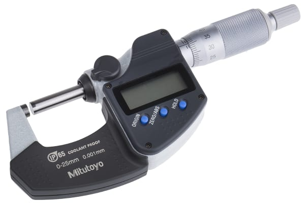 Product image for Mitutoyo 293-240-30 External Micrometer