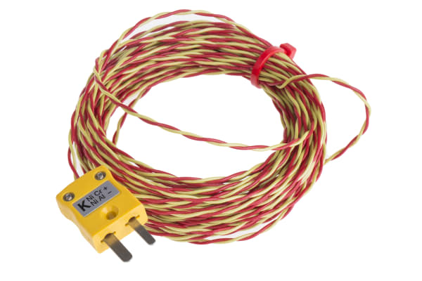 Product image for ANSI K thermcouple exposed Junction 10m