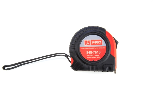 """Product image for 5M/16FT X 19MM/3/4"""" MEASURING TAPE"""