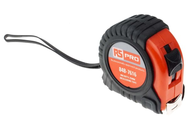 """Product image for 8M/26FT X 25MM/ 1"""" MEASURING TAPE"""