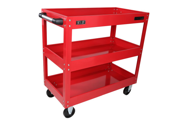 Product image for Workshop Trolley 3 Level Heavy-Duty