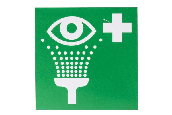 Product image for 100x100mm Vinyl Eyewash Station Sign