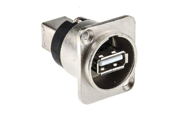 Product image for GENDER CHANGER, XLR SHELL, USB A-B SKT