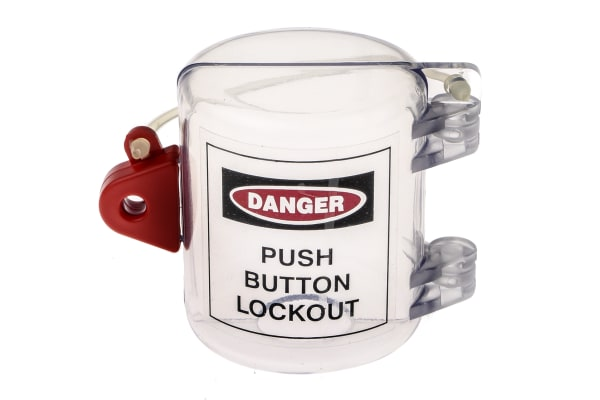Product image for Oversize Push Button Lockout