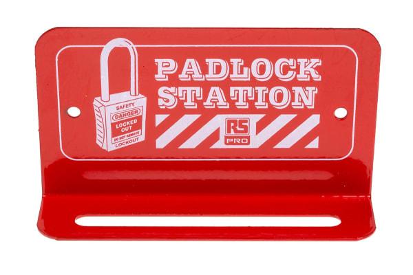 Product image for 6 Lock, Mini Lockout Padlock Station
