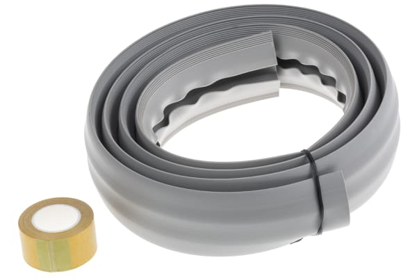 Product image for SOFT WIRING DUCT with adh Tape Grey6ft