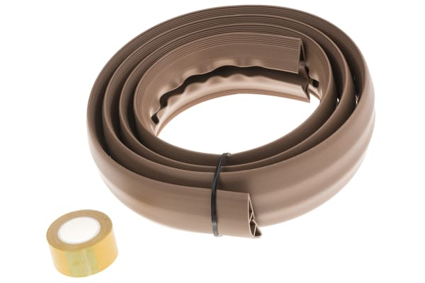Product image for SOFT WIRING DUCT with adh Tape Brown6ft