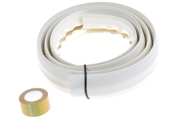 Product image for SOFT WIRING DUCT with adh Tape Milk6ft