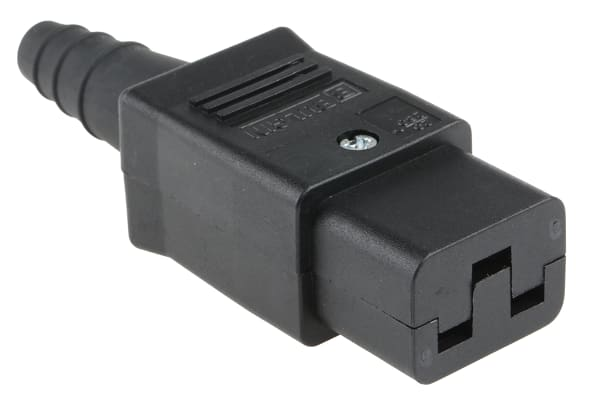 Product image for C19 FEMALE CABLE CONNECTOR