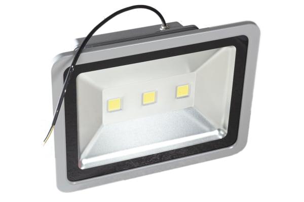 Product image for RS PRO LED Floodlight, 3 LED, 150 W, 13500 → 14500 lm, IP65 85 → 265 V