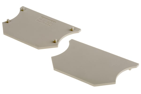 Product image for End Plate for 2.5/4/6/10mm sq.mm