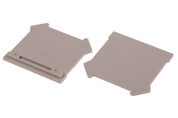 Product image for End Plate for mini 2.5/4/6/10mm sq.mm
