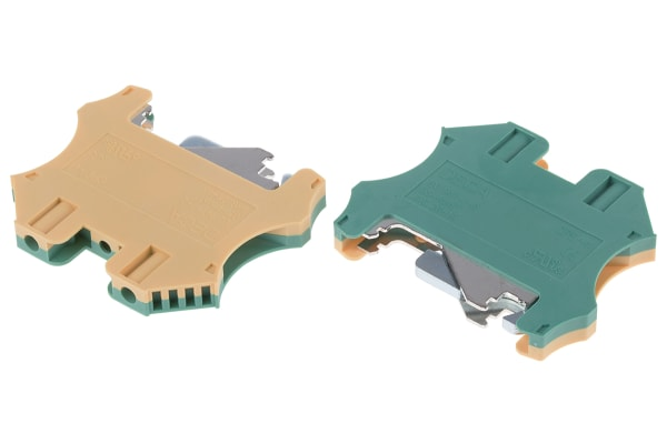 Product image for Screw Ground Terminal Blocks, 4sq.mm