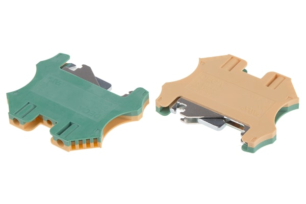 Product image for Screw Ground Terminal Blocks, 2.5sq.mm