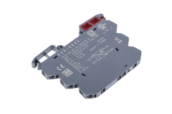 Product image for 6.2mm Solid State Relay 24VDC Coil