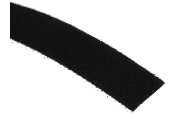 Product image for Black back-back strip,20mm W