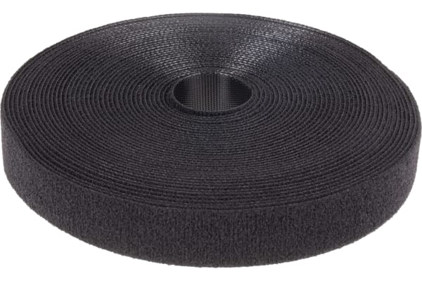 Product image for Black One-wrap continuoustape,20mm W