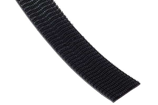 Product image for Black self engaging fastener,25mm W