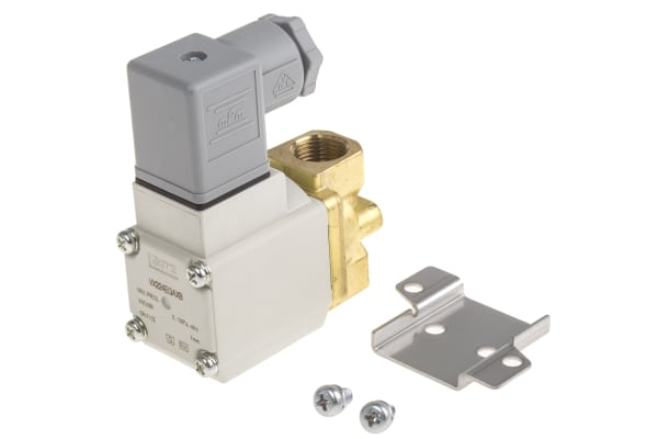 Product image for 2 Port Solenoid Valve Size 2, 24Vdc N/C