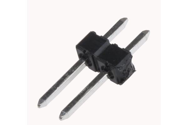 Product image for KK 254 2.54mm breakaway PCB header, 2P