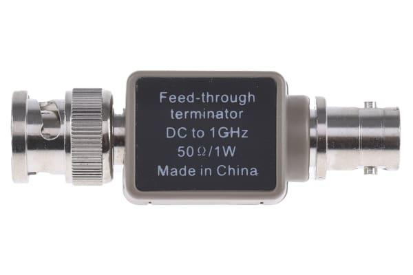 Product image for TERMINATOR,BNC FEEDTHROUGH 50R 1W 1GHZ