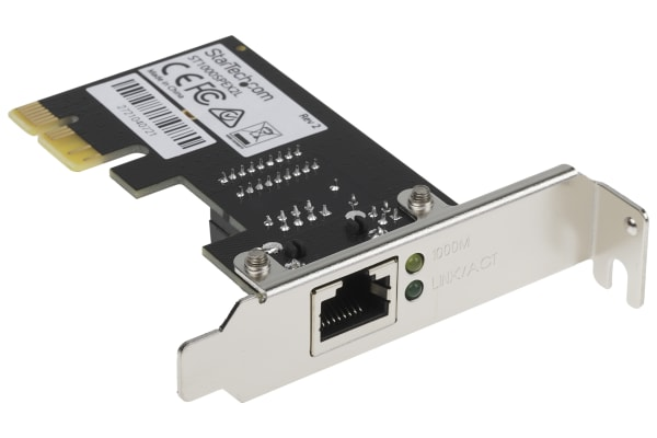Product image for 1 Port PCIe Gigabit Network Card