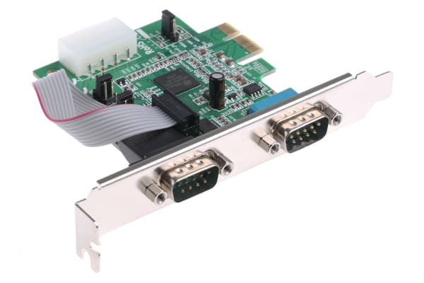 Product image for 2 Port PCI-Express 16C950 Serial Card
