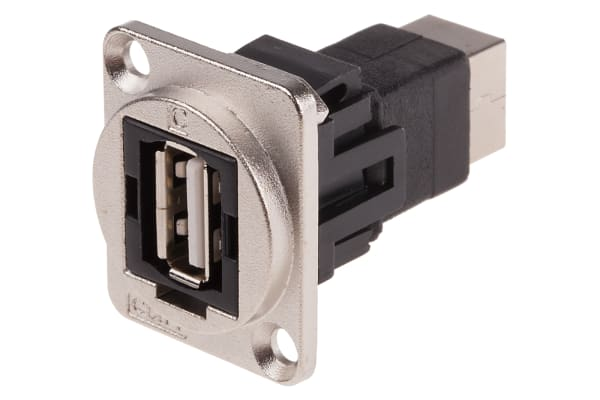 Product image for FT METAL USB 2.0 A-B CSK XLR