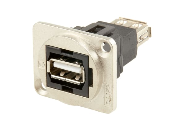 Product image for FT METAL USB 2.0 B-A CSK XLR