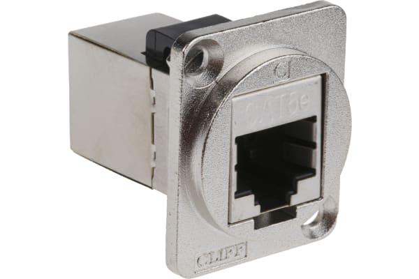 Product image for FT METAL CAT5e RJ45 SHIELD CSK XLR