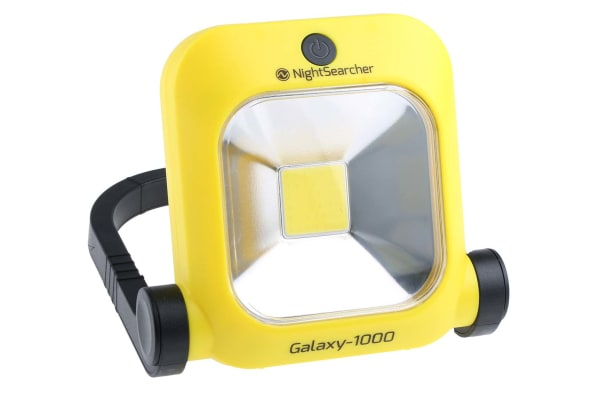 Product image for Nightsearcher LED Floodlight, 1 LED, 10 W, 500 lm, 1000 lm 7.4 V
