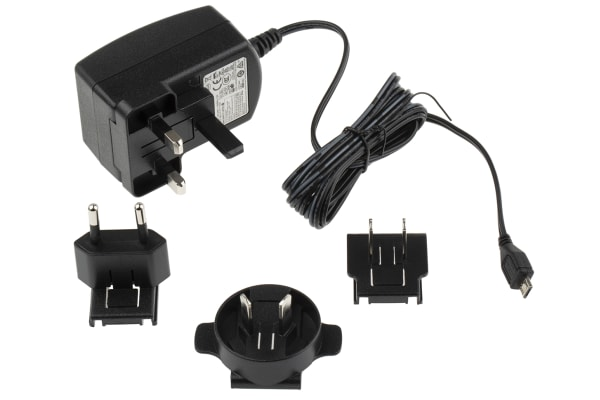 Product image for Stontronics, 13W Plug In Power Supply 5.1V dc, 2.5A, Level VI Efficiency, 1 Output Power Supply