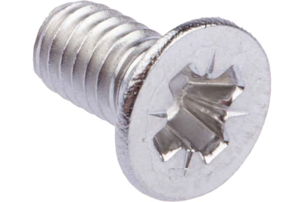 Product image for A2 s/steel cross csk head screw,M4x8mm