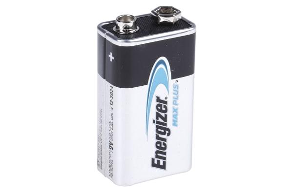 Product image for ENERGIZER ALKALINE MAX PLUS 9V 20PK