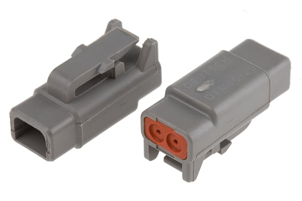 Product image for 2 WAY DTM PLUG