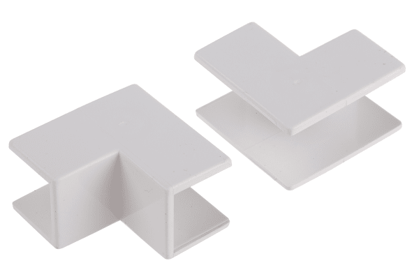 Product image for Wht PVC internal angle-16x16mm trunking