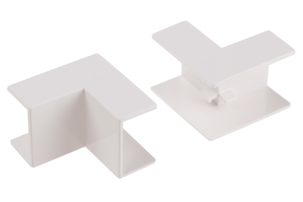 Product image for Wht PVC internal angle-25x16mm trunking