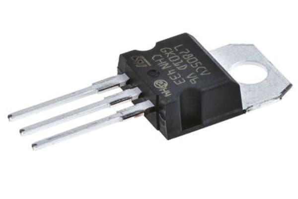 Product image for Linear voltage regulator,L7805CV 5V 1.5A