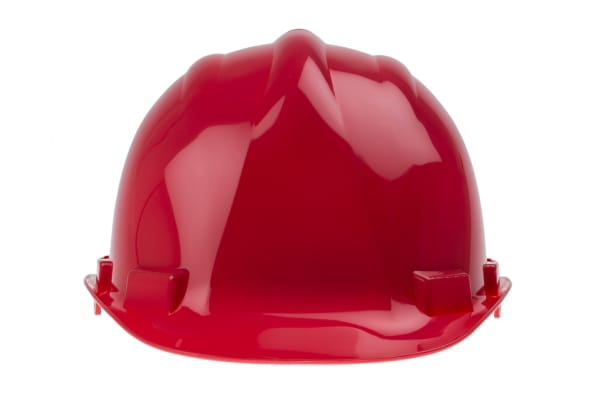 Product image for HDPE Safety Helmet, Red
