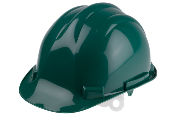 Product image for HDPE Safety Helmet, Green