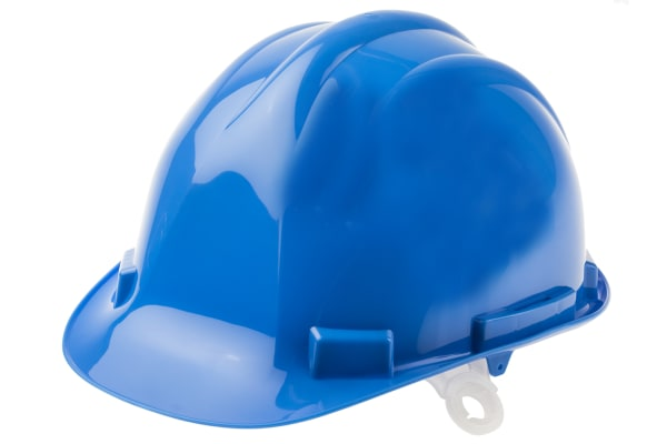 Product image for HDPE Safety Helmet, Blue