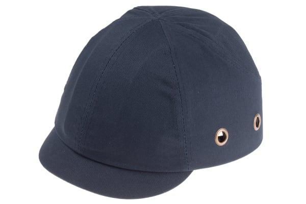 Product image for Short peak bump cap, 3cm, navy